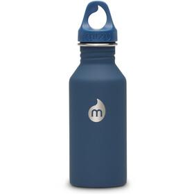 MIZU M4 Bottle with Blue Loop Cap 400ml Soft Touch Blue LE